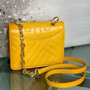Tory Burch Mini Alexa Leather Crossbody Bag